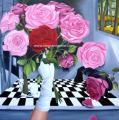 Le bouquet 100/100cm