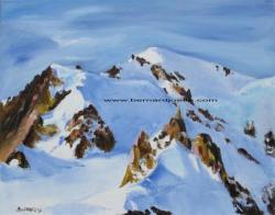 """""""Le Mont-Blanc"""" 40/50cm"""