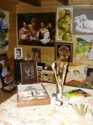 Atelier de Peinture Servoz