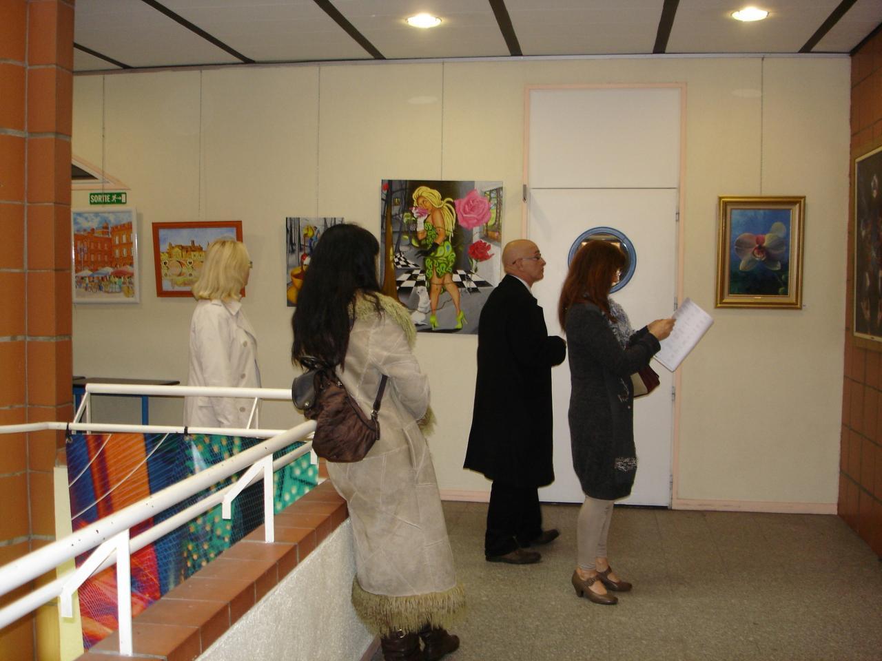 Expositions de tableaux de jo lle bernard artiste peintre - Salon international d art contemporain toulouse ...
