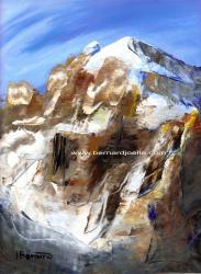 """""""le mont blanc"""" 24-30cm"""
