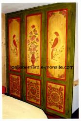 décoration sur portes de placard