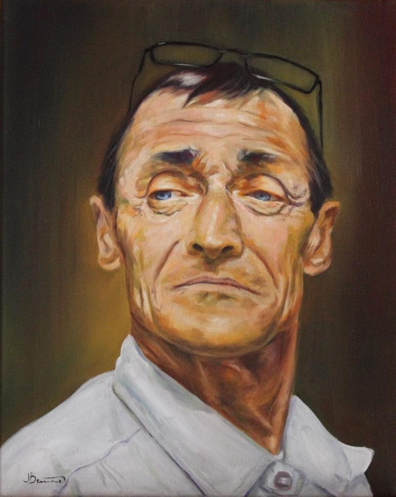 gilles portrait 40 50cm