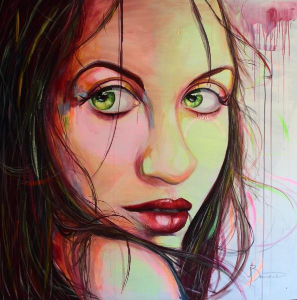 Femme n°2 acrylique