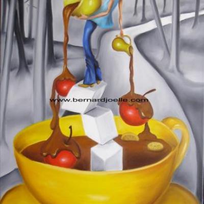 la fontaine de chocolat